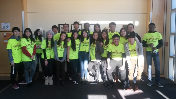 Welcoming New International Students From All Over The World! T-Shirt Photo