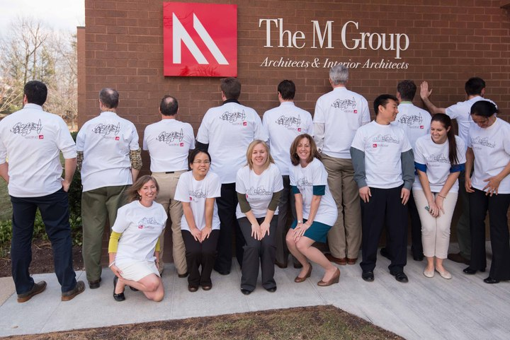 Team M Group Architects Unite! T-Shirt Photo