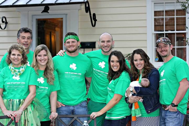 The Mc Kee Clan Celebrates St. Patrick's Day 2015 T-Shirt Photo