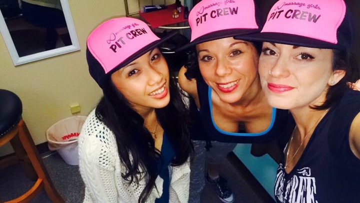 Puyallup Massage Girls Event Crew T-Shirt Photo