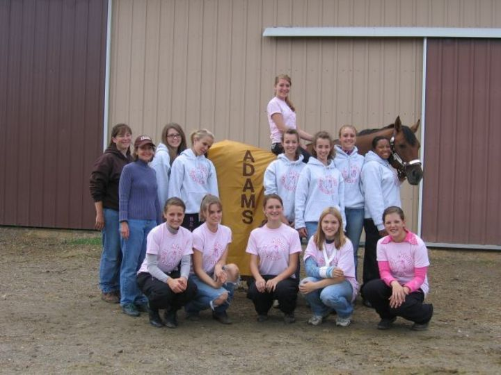Adams High School Equestrian Team T-Shirt Photo