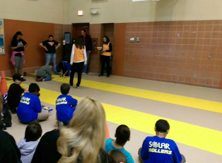 Solar Car Races! T-Shirt Photo