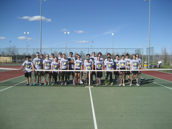 Hanford Jv Tennis Team T-Shirt Photo