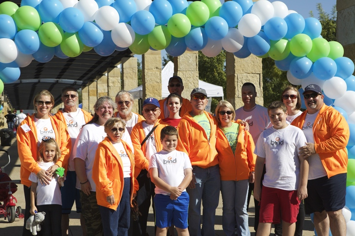 Team Bind At The Annual Texas Walk For Brain Injury  T-Shirt Photo
