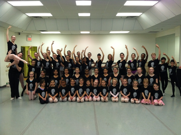 Princeton Youth Ballet's The Secret Garden Cast Photo T-Shirt Photo