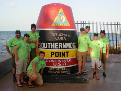 Southernmost Scouting Outing T-Shirt Photo