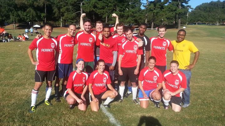 Soccer Coed Champs, Thanks To The New Jersey T-Shirt Photo