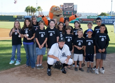 San Jose Giants   Clayton Tanner Fan Club T-Shirt Photo