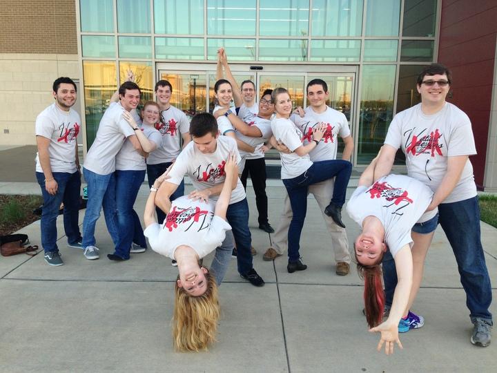 Vertical Expressions Ballroom T-Shirt Photo