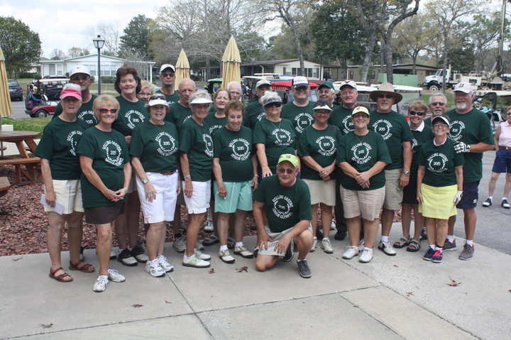 Rolling Greens Senior Olympics Ocala, Fl. T-Shirt Photo