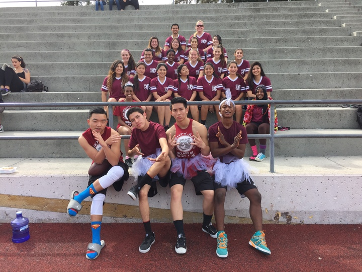 Class Of 2016 Powderpuff Football T-Shirt Photo