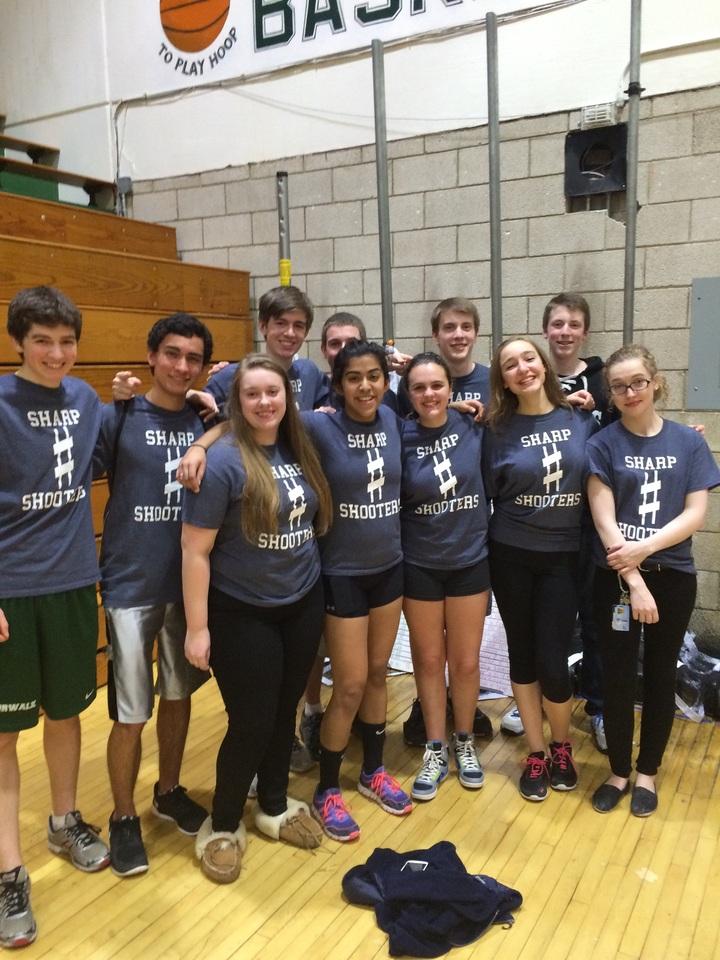 Sharp Shooters Dodgeball Team T-Shirt Photo