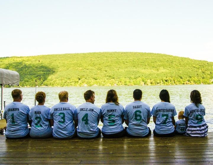 The Growing De Wald Family! T-Shirt Photo