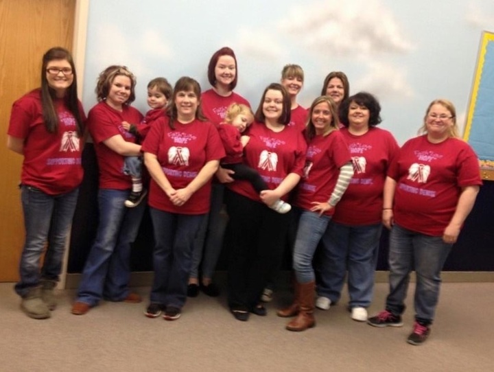 Supporting Denise T-Shirt Photo