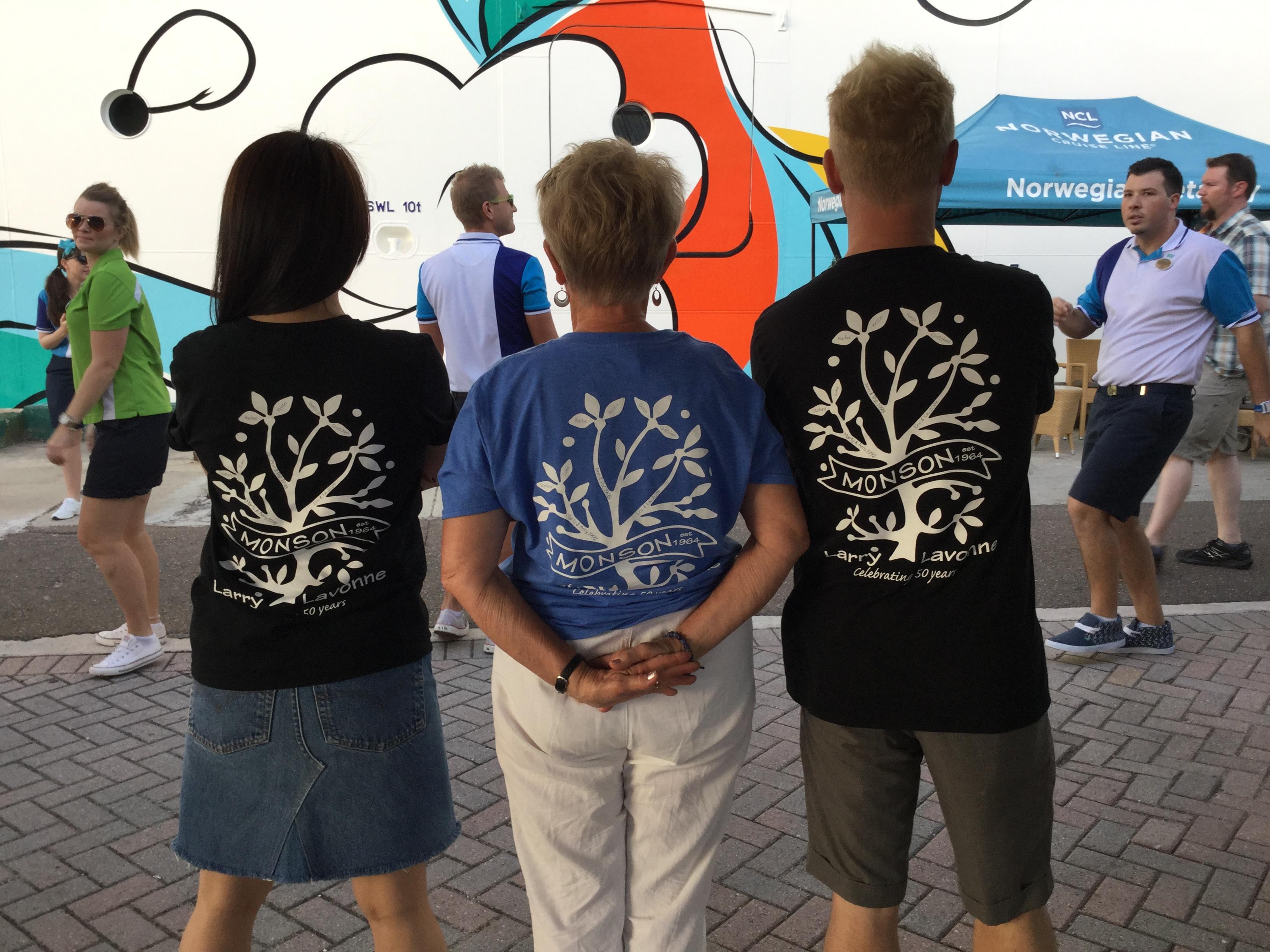 Custom T Shirts For The 50 Year Family Tree Shirt Design Ideas