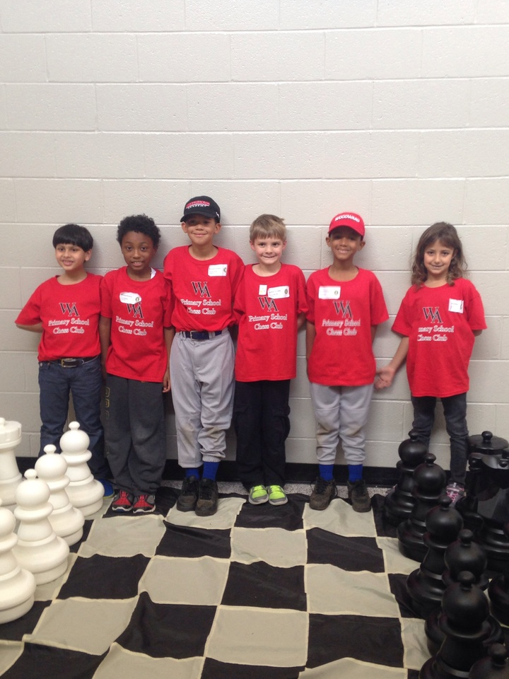 Woodward Primary School Chess Club T-Shirt Photo