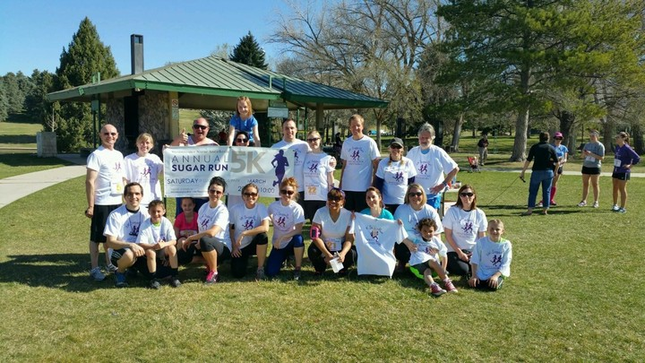 Westminster Anesthesia 5k Sugar Run T-Shirt Photo