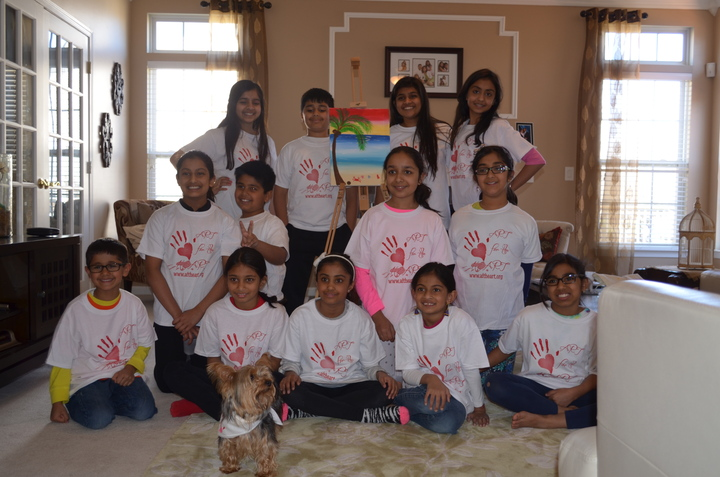 Art For The Heart Spring Program T-Shirt Photo