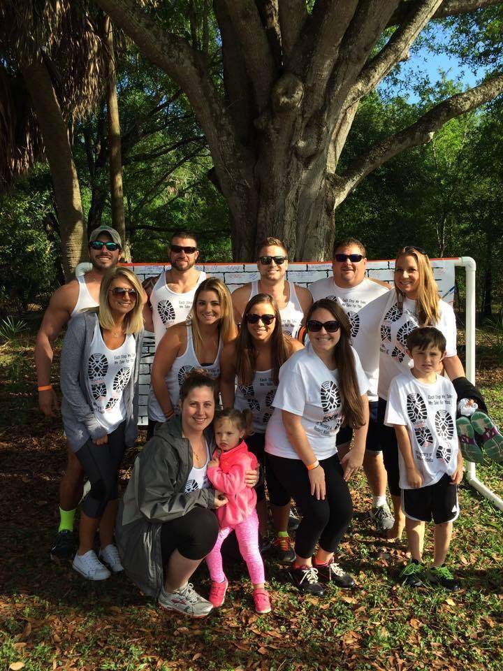 Multiple Sclerosis Walk 2015 T-Shirt Photo