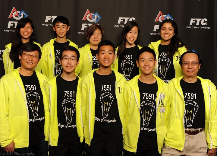 Voltage Of Imagination, Robotics Team 7591! T-Shirt Photo