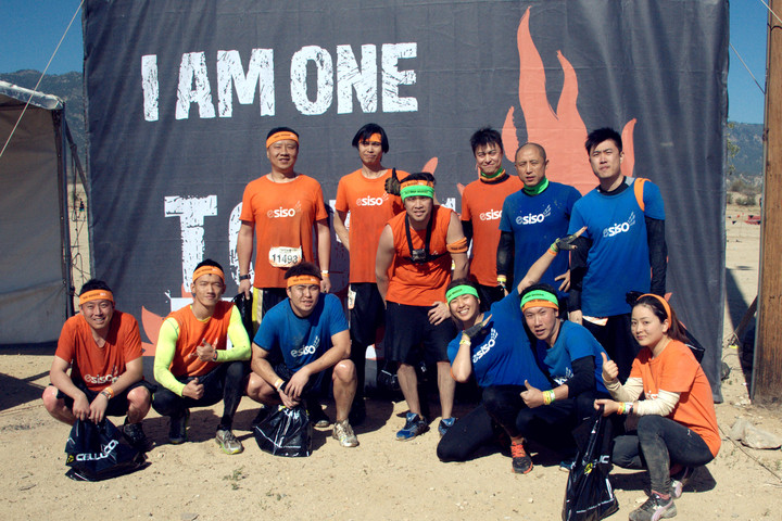 Team E Siso At Tough Mudder So Cal 2015 T-Shirt Photo