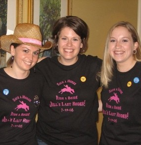 Jill's Last Rodeo   7 19 2008 T-Shirt Photo