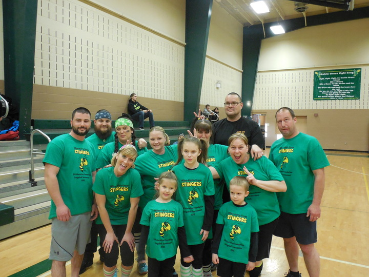 Team Stingers Getting Silly! T-Shirt Photo