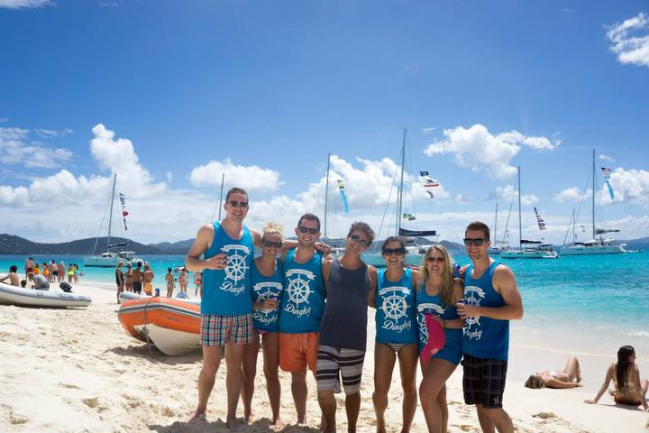 The Yacht Week Crew In British Virgin Islands! T-Shirt Photo