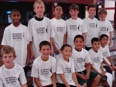 Basketball Skills Camp My Defense + My Hustle = You Losing T-Shirt Photo