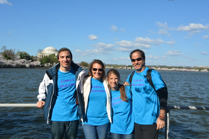 Crusading For An Epilepsy Cure In Washington Dc T-Shirt Photo