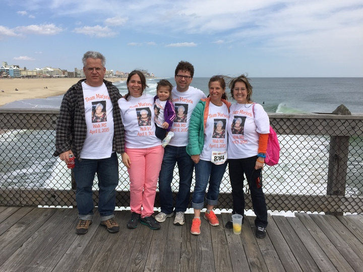 "Walk Ms 2015 Ocean City ""Team Marjorie"" T-Shirt Photo"