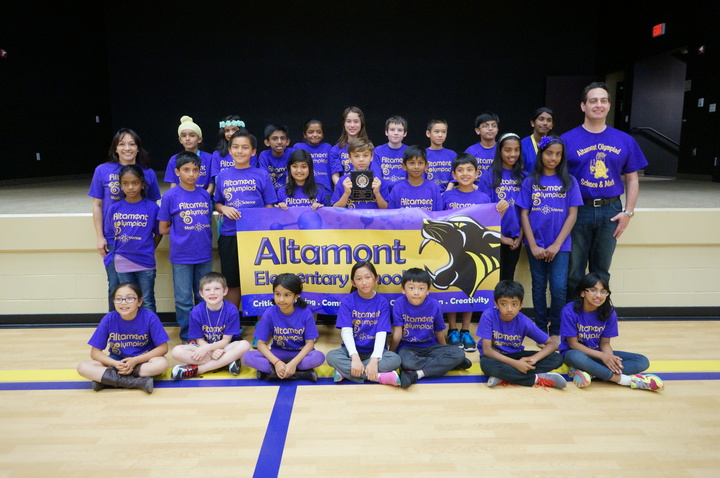 Panther Pride   Altamont Science Olympiad Team T-Shirt Photo