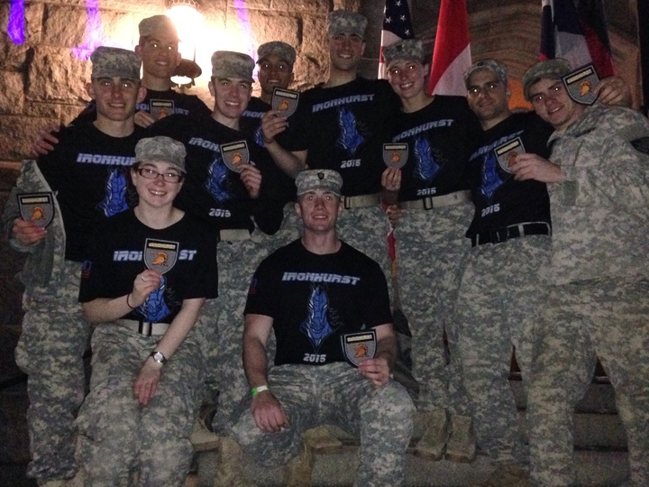 "West Point I 1 Sandhurst Team Aka ""Ironhurst"" T-Shirt Photo"