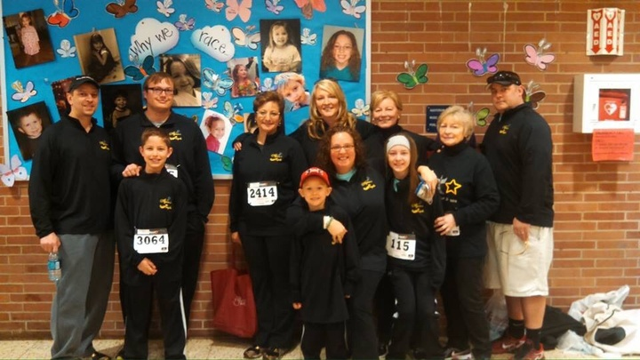Alyson's Angels Race For Grace 2015 T-Shirt Photo
