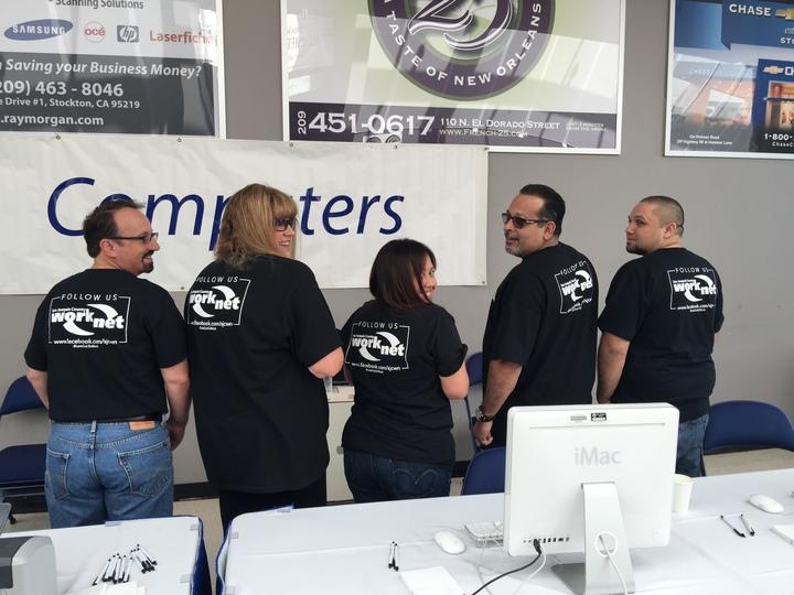 San Joaquin County Work Net  T-Shirt Photo