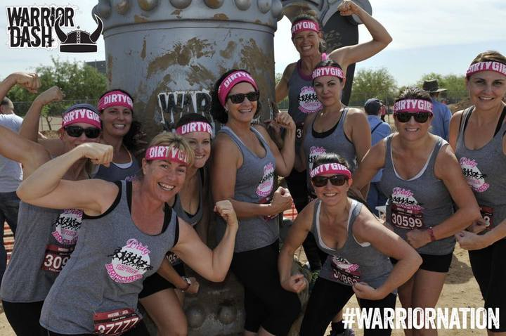 Phoenix Warrior Dash 2015 T-Shirt Photo