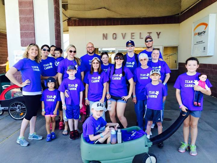 Team Cannon Rocks Our Local Autism Walk! T-Shirt Photo