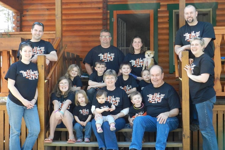 The Family Takes Frontier Town T-Shirt Photo