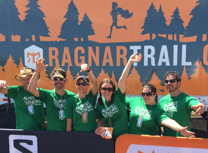 Almost There Ragnar Trail Relay Team 2015 T-Shirt Photo