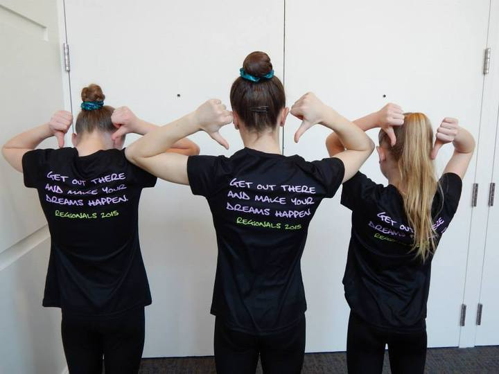 Legacy Level 8's Rockin At The Regional Championships T-Shirt Photo
