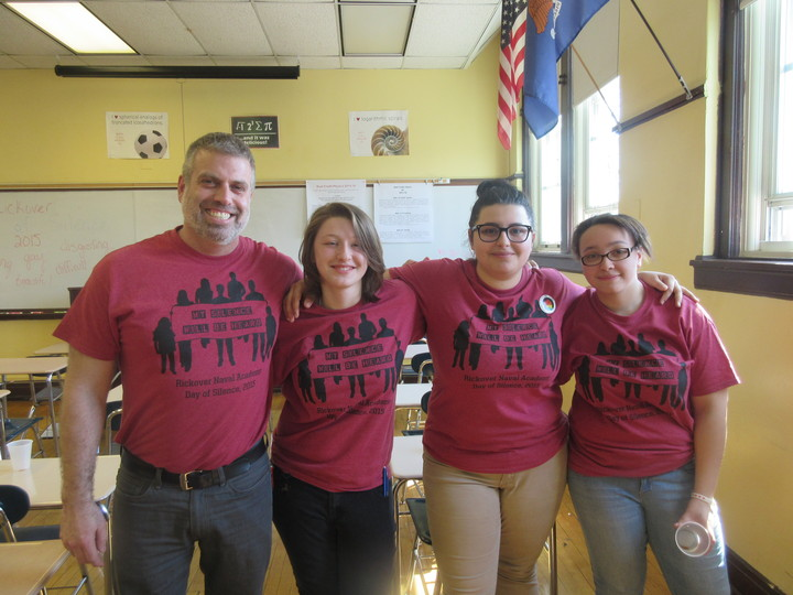 Day Of Silence   April 17, 2015 T-Shirt Photo
