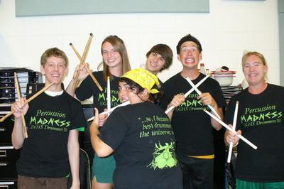 Crazy Drummin' T-Shirt Photo