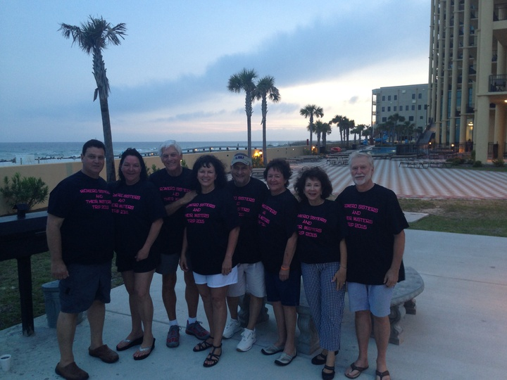 Romero Sisters And Their Misters Trip 2015 T-Shirt Photo