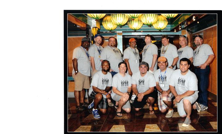 Man Ii Man Support Group T-Shirt Photo