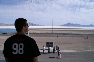 Mastrup At The Salt Flats T-Shirt Photo