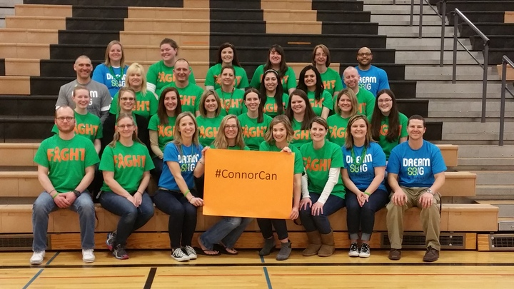 Thompson Junior High St. Baldrick's Event 2015 T-Shirt Photo