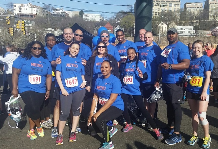 Lincoln Tunnel 5k Run Team T-Shirt Photo