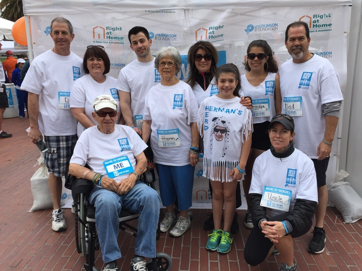 Herman's Herd Moves For Parkinson's Disease T-Shirt Photo