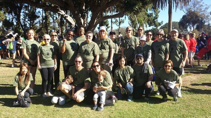 Arty's Army Fighting For Jdrf T-Shirt Photo