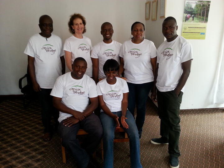 Africa Bridge Staff T-Shirt Photo